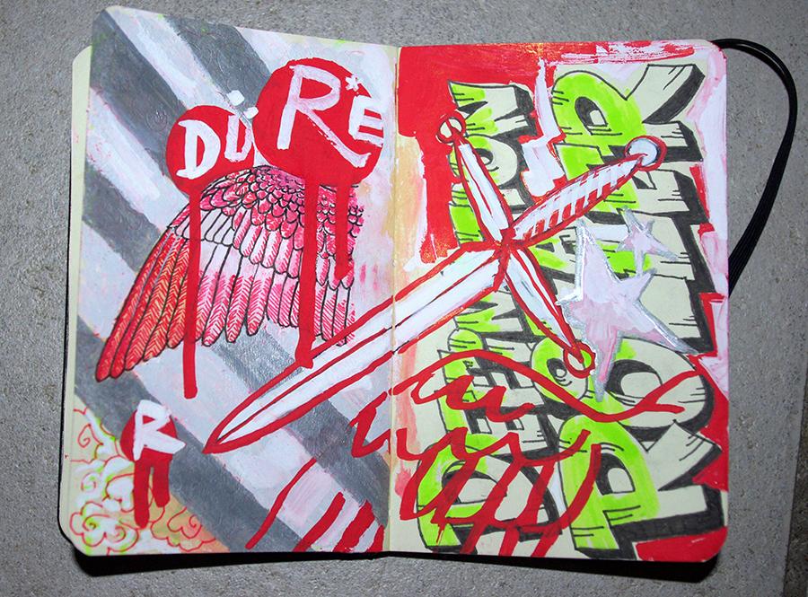 Ian Rogers greynotgrey.com sketchbook