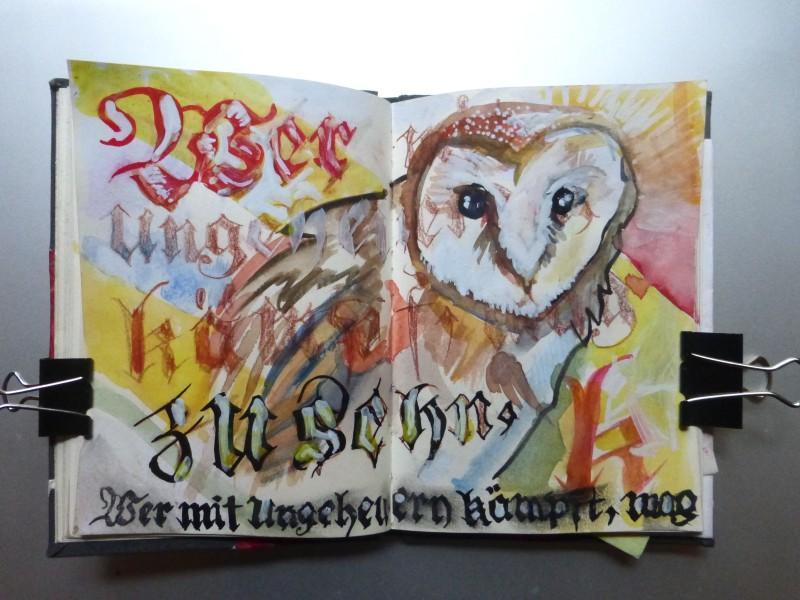 Ian Rogers sketchbook June 2014