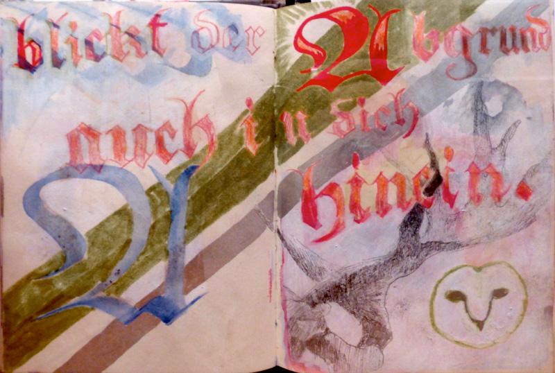 Ian Rogers sketchbook 2014