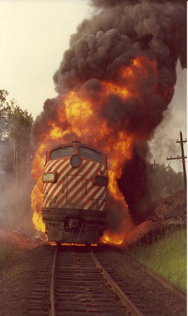 FP7A CP 4062 July 8 1975
